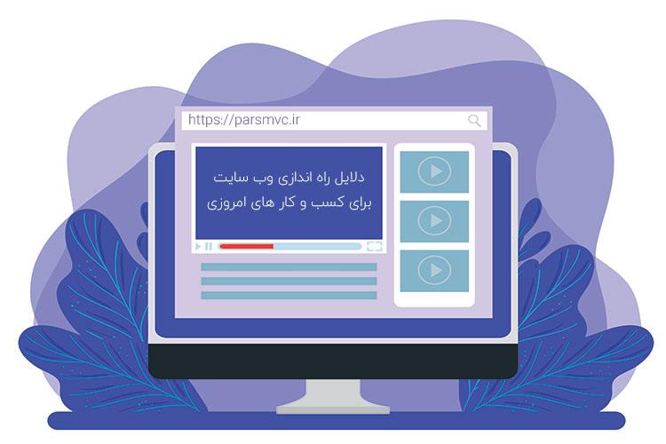سوال بسیاری از کاربران این هست که چرا باید یک وب سایت برای کسب و کارمان طراحی کنیم، در این مطلب به این سوال پاسخ داده می شود.